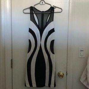 Ark & Co Black and White Dress